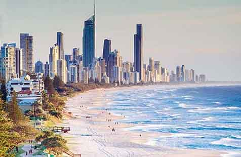 intercambio para gold coast australia go