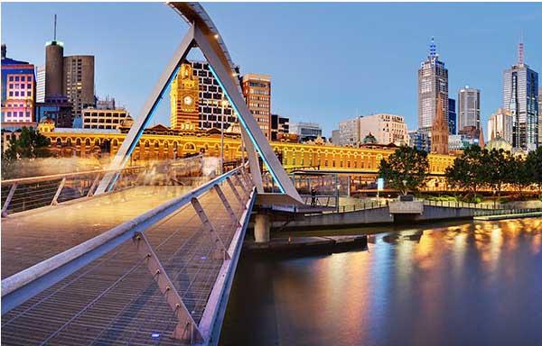 Intercâmbio para Austrália. muitas pessoas escolhem melbourne pela sua arte