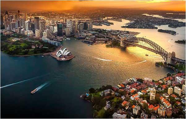 intercambio para australia, escolha sydney como seu destino